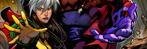 Humans & Mutants Alike Will Tremble Before the WARZONES! of AGE OF APOCALYPSE #1!
