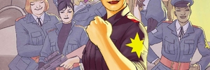 CAPTAIN MARVEL AND THE CAROL CORPS #1 Takes to the Skies Over the WARZONES! This June!