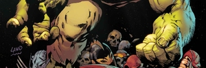 Maestro Smashes in the WARZONES! of FUTURE IMPERFECT #1!
